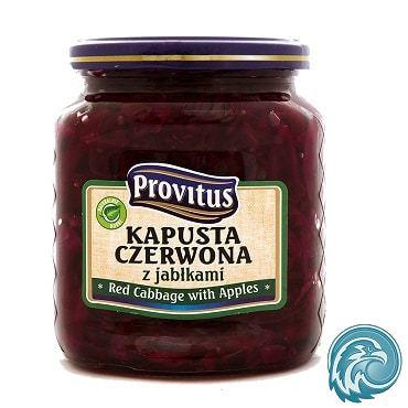 chou rouge pommes polonais