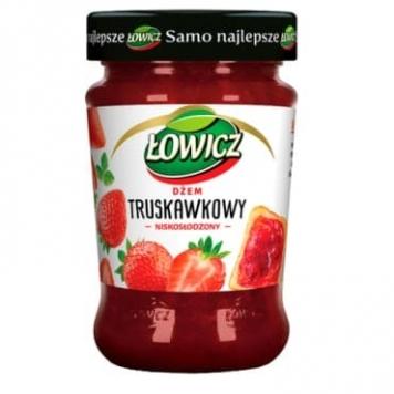 confiture fraises allegee sucre