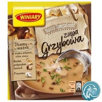 soupe polonaise champignons